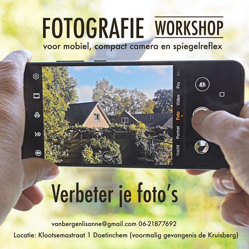 Workshop - Verbeter je foto's